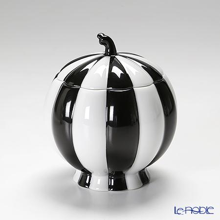 アウガルテン(AUGARTEN) メロン ブラック&ホワイト(7027)シュガー 0.25L(015)