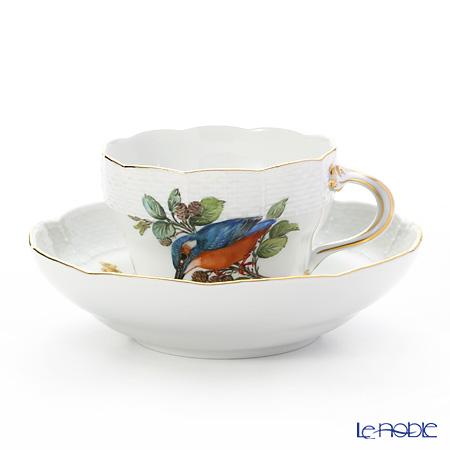 マイセン(Meissen) 鳥と虫 260110/01582 コーヒーカップ&ソーサー 200cc カワセミ