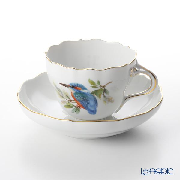 マイセン(Meissen) 鳥 260210/00582/Kingfisher コーヒーカップ&ソーサー 200cc カワセミ