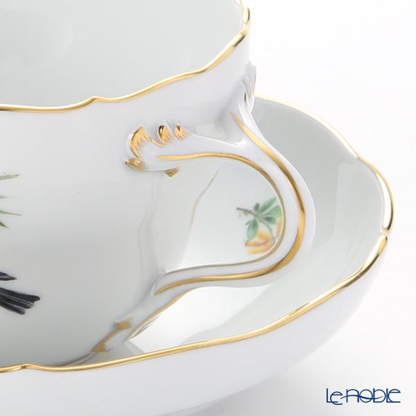 マイセン(Meissen) 鳥 260210/00582/Bullfinchコーヒーカップ&ソーサー(200cc) ウソ