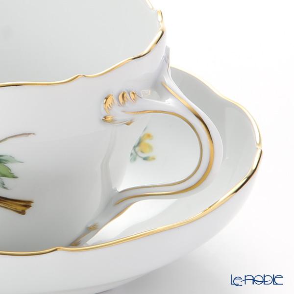 マイセン(Meissen) 鳥 260210/00582/Yellow Hammerコーヒーカップ&ソーサー(200cc) キアオジ