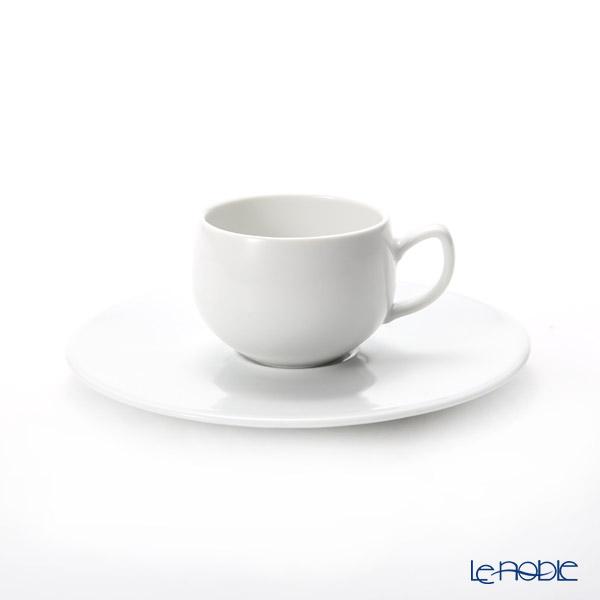 ドグレーヌ パリ サラムホワイト コーヒーカップ&ソーサー 110cc