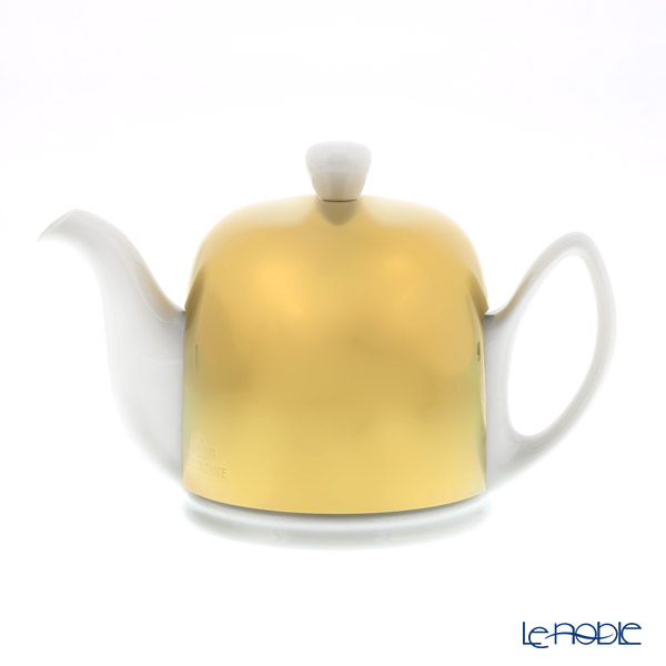 Degrenne Paris 'Salam - Color' Shiny Gold 234216 Tea Pot 700ml with tea cosy/cover