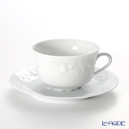 フィリップ・デズリエ ブラン(California)ティーカップ&ソーサー 180ml