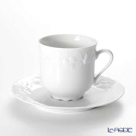 フィリップ・デズリエ ブラン(California) コーヒーカップ&ソーサー(ヨーロピアン) 180ml
