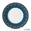 Deshoulières Dhara bleu Dessert plate 24 cm