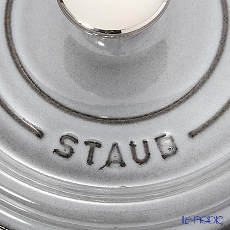 ストウブ(staub) ピコ・ココット ラウンド16cm/1.2L グレイ