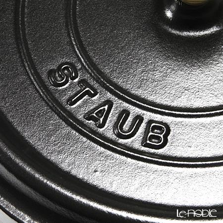 ( staub ) Staub Pico cocotte round 24cm/3.8L black