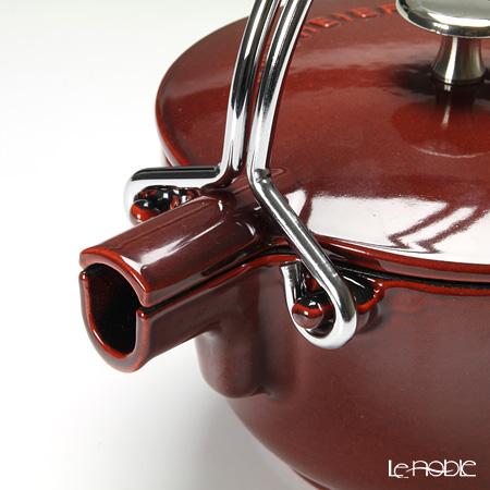 Staub 'Tea' Grenadine Red [Cast Iron] Round Kettle 16.5cm 1150ml