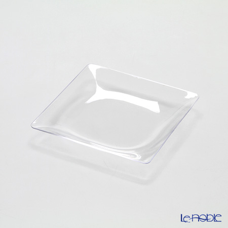 Solia Fluid Plate -110x110x13 mm Clear PL20240FF