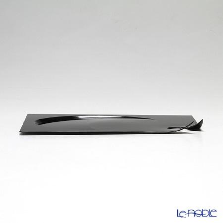 Solia Manta rectangular plate - 210x140x15 mm Black