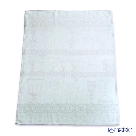 ル・ジャカール・フランセ ティータオルクリスタル(ミスト) 80×60cm 綿100%