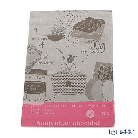 ル・ジャカール・フランセ ティータオルフォンダンショコラ(ベージュ) 70×50cm 綿100%