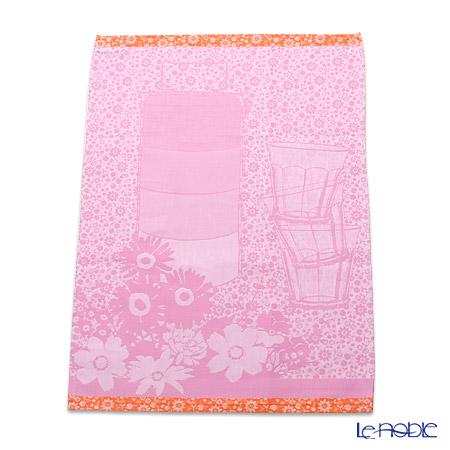 ル・ジャカール・フランセ ティータオルランチボックス(ピンク) 70×50cm 綿100%