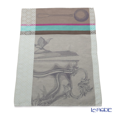ル・ジャカール・フランセ ティータオルフレンチディナー(レンティル) 80×60cm 綿100%