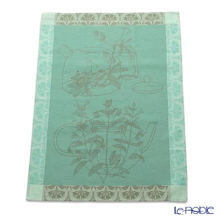 Le Jacquard Francais tea towels Tisane (Verbena) 80 x 60 cm 100% cotton