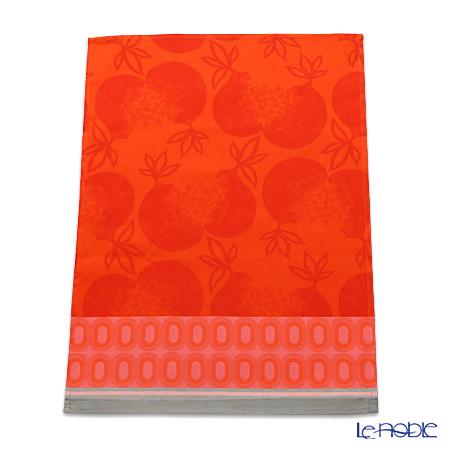 ル・ジャカール・フランセ ティータオルグレナデス(オレンジ) 70×50cm 綿100%
