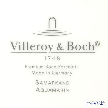 ビレロイ&ボッホ(Villeroy&Boch) サマルカンドプレート 22cm(ホース/アクアマリン)