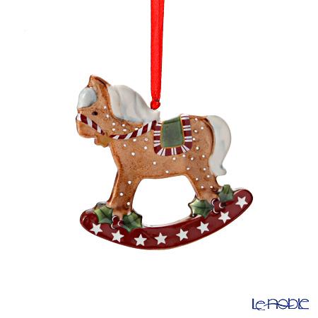 Villeroy & Boch Winter Bakery Decoration Rocking horse brown 8cm 6851