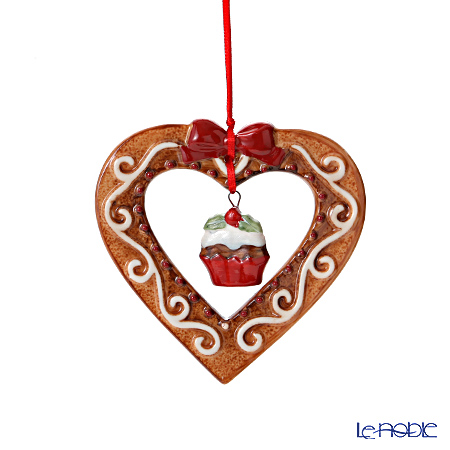 Villeroy & Boch Winter Bakery Decoration Ornaments Gingerbread heart 8cm 6852