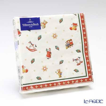 Villeroy & Boch 'Winter Special - Toy's Delight (Christmas)' Paper Napkin 25x25cm (set of 20)
