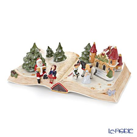 ビレロイ&ボッホ(Villeroy&Boch) クリスマストイズメモリーフェアリーテールブック シンデレラ(オルゴール付キャンドルホルダー) 5957