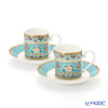 Villeroy & Boch Samarkand Aquamarin Espresso cup & saucer, set of 2