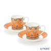 Villeroy & Boch Samarkand Mandarin Espresso cup & saucer, set of 2