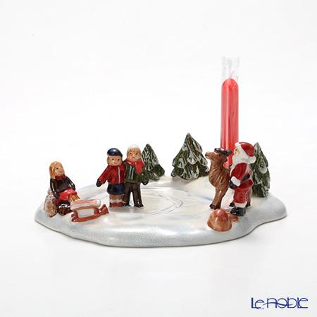 ビレロイ&ボッホ(Villeroy&Boch) ミニクリスマスヴィレッジアイススケーティング(キャンドルホルダー)