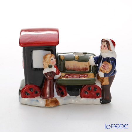Villeroy & Boch Nostalgic Christmas Market Maroni seller train 5838 (candle holder)