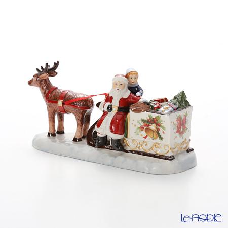ビレロイ&ボッホ(Villeroy&Boch) ノスタルジッククリスマスマーケットスレイ(キャンドルホルダー) 5498