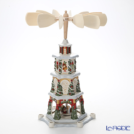 Villeroy & Boch Christmas Toys Memory Christmas pyramid 41cm 5843 (Candle Holder)