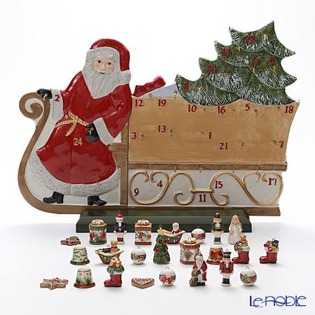 ビレロイ&ボッホ(Villeroy&Boch) クリスマストイズメモリー アドベントカレンダー 2016年ツリー×オーナメント 9593