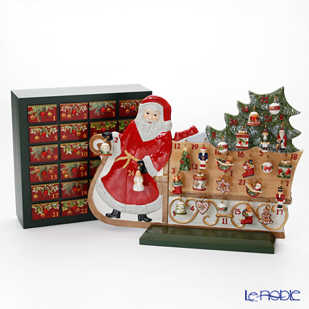 Villeroy & Boch Christmas Toys Memory Advent calendar Santa´s sledge [Limited in 2016]