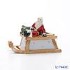 Villeroy & Boch Nostalgic Melody Sleigh with Santa 6502 (Music Box)