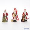 Villeroy & Boch Nostalgic Ornaments 6655 Santa set of 3