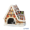Villeroy & Boch 'Christmas Toys - Gingerbread House' 6505 Tea Light Candle Holder with Music Box H16.5cm (Music : Let It Snow)