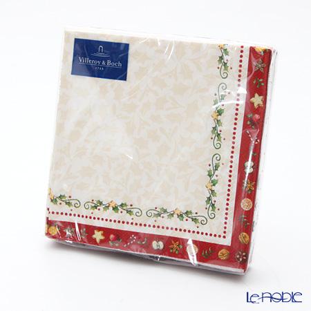 Villeroy & Boch Winter Special Napkin Garland 25 x 25 cm 20 pieces 0075