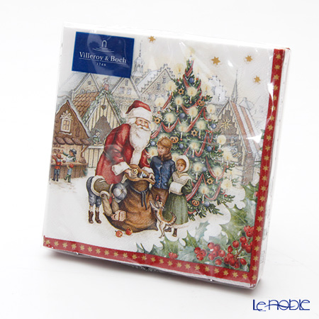 Villeroy & Boch Winter Special Napkins Christmas market 25 x 25 cm 20 pieces 0085