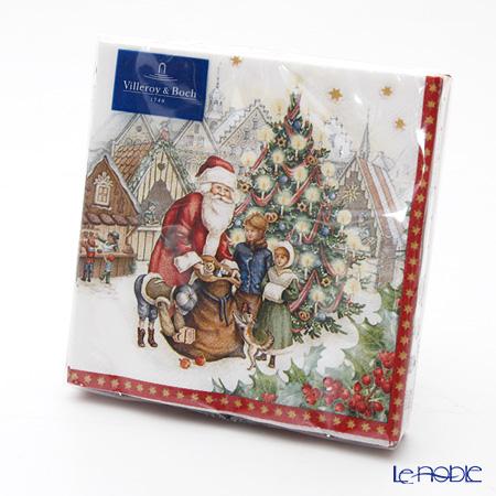 ビレロイ&ボッホ(Villeroy&Boch) ウィンタースペシャル ナプキン クリスマスマーケット 25×25cm 20枚入 0085