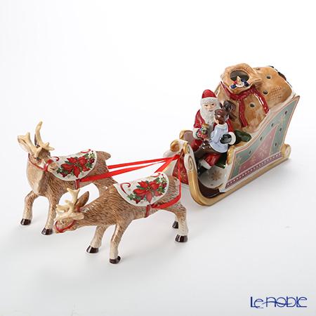 ビレロイ&ボッホ(Villeroy&Boch) クリスマストイズサンタズギフト/スレイ6619 キャンドルホルダー