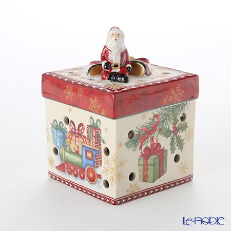 ビレロイ&ボッホ(Villeroy&Boch) クリスマストイズ サンタズギフト 9cm 6617 キャンドルホルダー