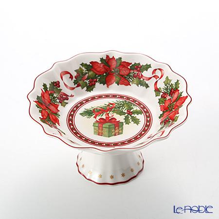 Villeroy & Boch 'Toy's Fantasy - Gift Box / Christmas' 3850 Pedestal Bowl 15xH8cm