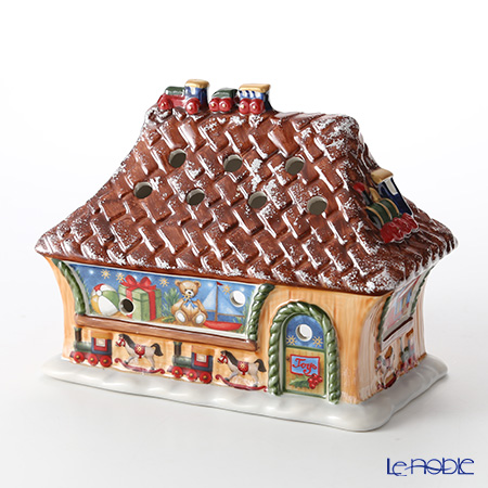 Villeroy & Boch (Villeroy's) North Pole ex press Toys Shop h:14 cm 6527 candle holder
