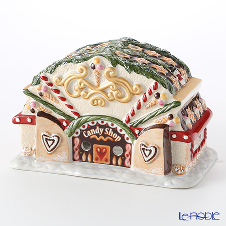 Villeroy & Boch (Villeroy's) North Pole ex press Candy store h:11.2cm 6528 6528 candle holder