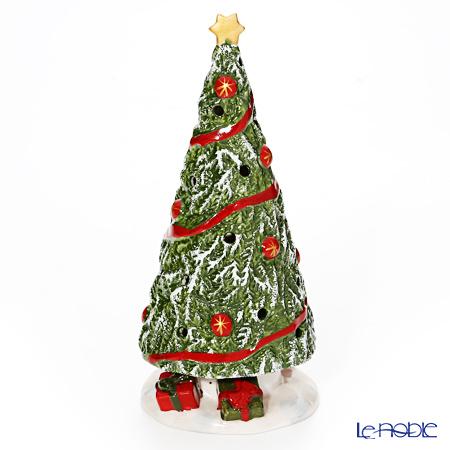 ビレロイ&ボッホ(Villeroy&Boch) ノースポールエクスプレスクリスマスツリー 21cm 6530 キャンドルホルダー