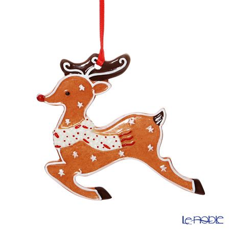 Villeroy & Boch Winter Bakery Decoration Ornament Gingerbread Reindeer 9x9,5cm 6670