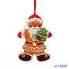 Villeroy & Boch Winter Bakery Decoration Ornament Gingerbread Santa 10x7cm 6671