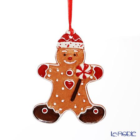 Villeroy & Boch 'Winter Bakery Decoration / Christmas' 6672 Gingerbread Man Ornament 7.5x9.5cm
