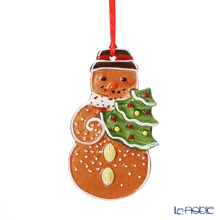 Villeroy & Boch Winter Bakery Decoration Ornament Gingerbread Snowman 9,8x5,5cm 6673